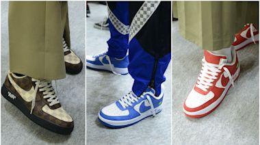 時尚 LV x Nike推出21款Air Force 1聯名鞋 「Amen Break」男裝亮點閃不停   蘋果新聞網   蘋果日報