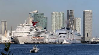 Two Costa cruise ships plan to dock at PortMiami Thursday with 30 sick on board
