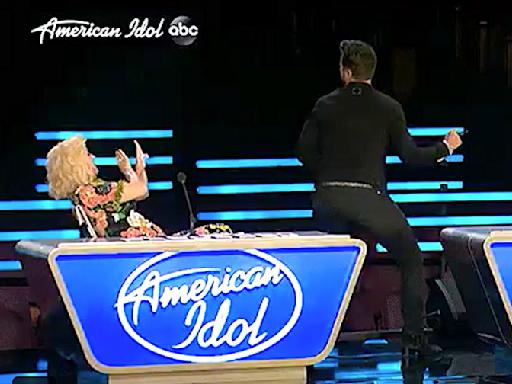 The right stuff: Luke Bryan's New Kids on the Block tribute brings comic relief to bittersweet 'American Idol' night
