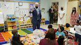 Biden jokes to schoolchildren about dodging press questions