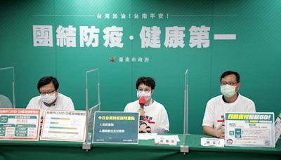 台南市說明防疫重點攤商數位支付 感謝日本第六度贈AZ疫苗
