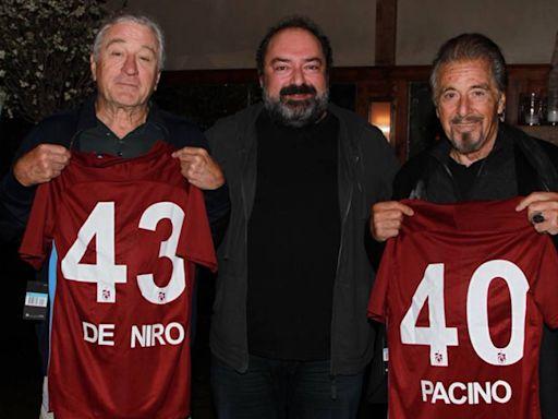 El Trabzonspor turco 'ficha' a Robert De Niro y Al Pacino