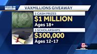 $1 million, college scholarships offered in new COVID-19 vaccine lottery