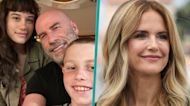 John Travolta Reflects On First Father's Day Without Kelly Preston In Rare Pic With Kids