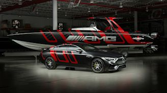 This Cigarette Mercedes-AMG Speedboat Hits 83 mph