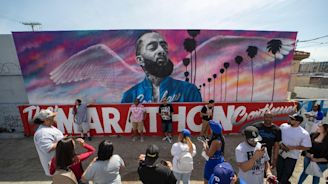 Rapper Nipsey Hussle in new video filmed days before his death