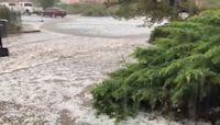 Monsoon Season Brings Hail to Albuquerque Area