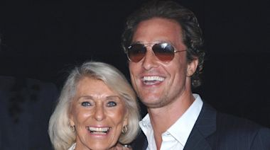 Matthew McConaughey Reveals the Reason He Shut His Mom Out of His Life for 8 Years