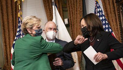 My New Favorite TV Show is Kamala Harris Swearing in Biden Cabinet Secretaries