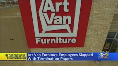 Art Van Furniture Employees Hit With Termination Papers
