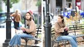 Katie Holmes Just Wore These Exact Sneakers Out in New York