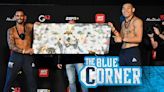Argentinas Santiago Ponzinibbio pays tribute to Diego Maradona at UFC on ABC 1 weigh-ins
