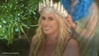 Rebel Wilson reflects on her 40th birthday while sporting a mermaid costume