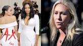 Marjorie Taylor Greene says MAGA star 'first' after Ocasio-Cortez makes Met Gala splash