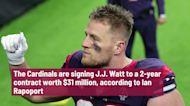 Cardinals sign J.J. Watt to 2-year deal