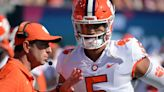 Uiagalelei 'Slowly But Surely' Getting More Comfortable in Clemson Offense