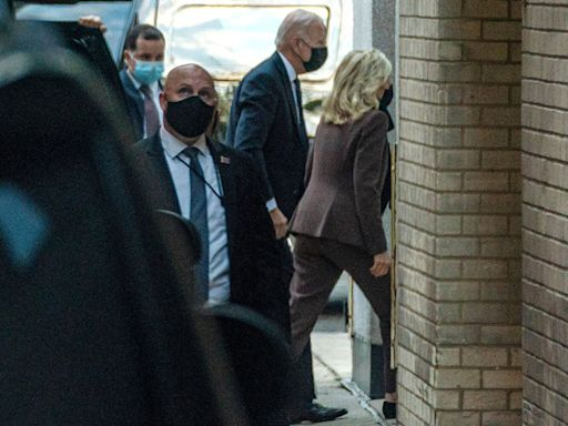 Jill Biden Undergoes 'Common Medical Procedure' with Joe Biden at Her Side Then Returns to White House