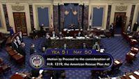 Senate moves a step closer to COVID relief bill