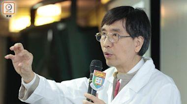 袁國勇:勿以為年輕染疫就無事 部分人失嗅覺數月