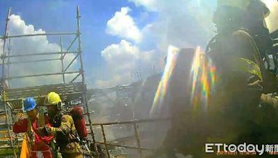 南科台積電再生淨水廠大火原因曝 2工人困下水池驚險獲救