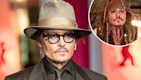 Johnny Depp Dresses Up as Captain Jack Sparrow for Virtual Visit to Children's Hospital - E! Online