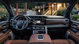 2022 GMC Sierra Denali Ultimate vs. 2022 Ram 1500 Limited Longhorn vs. Ford F-150 Limited | Luxury truck interior face-off