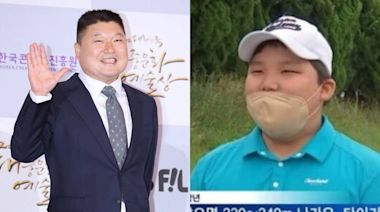 姜虎東國小兒罕見曝光!特大號體格網笑翻「不用怕走失」