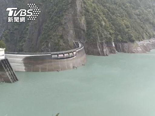 德基水庫集水區降雨不多 蓄水率升為59.5%│TVBS新聞網