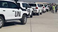 UN Vehicles Seen at Kabul Airport as Envoy Returns Following Doha Visit