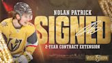 Vegas Golden Knights Sign Forward Nolan Patrick To Two-Year Contract