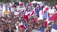 Thousands march against COVID pass in Paris