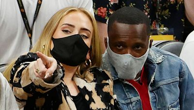 Looks Like Adele Went Instagram Official With Rumored Boyfriend Rich Paul At Anthony Davis's Wedding