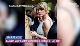 So Sweet! Taylor Swift Skips Grammy Awards, Attends BAFTAs Afterparty with Boyfriend Joe Alwyn