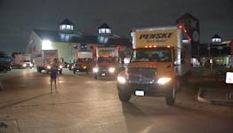 Another supply caravan departs Houston for hurricane Ida victims