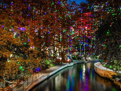San Antonio River Walk Extends Magical Holiday Light Display