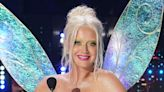 Katy Perry Transforms Into Tinkerbell in a Glittering Minidress, Matching Neon Pumps & Dramatic Fairy Wings