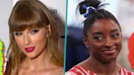 """Taylor Swift Tells Simone Biles She Cried Watching Her At Tokyo Olympics: """"""""We All Learned From You"""""""""""