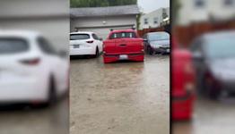 East Bay neighborhood upset with county after street floods