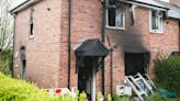 Woman, 43, dies and girl, 16, in hospital after fire rips through family home