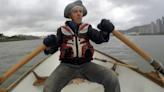 困台英男自發撿淡水河垃圾 環保善行登上BBC版面