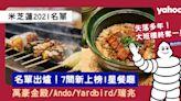米芝蓮2021|香港米芝蓮全名單!7間新上榜1星餐廳:大班樓終上榜