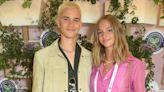 Romeo Beckham's girlfriend Mia recreates his mother Victoria's signature pose