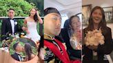 潘世亨今日註冊行禮娶混血女模 吳千語獲新娘子親送花球笑到四萬咁口