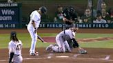 Bizarre 'catcher's balk' call costs Giants run vs. D-backs