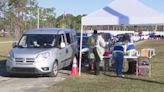 COVID-19 vaccination event at Volusia County Fairgrounds