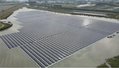大太陽商機!康舒嘉義太陽能滯洪池發電廠今啟用