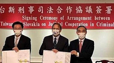 台斯簽訂司法互助協議 蔡清祥:將建立直接溝通管道