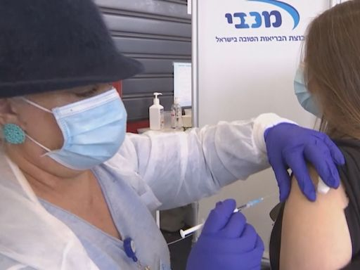 以色列將為60歲以上民眾注射第三劑疫苗