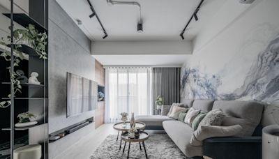工業風與北歐風組隊真配!34 坪老屋翻新生活有各自辦公室、個性化展示收納與寬敞大客廳