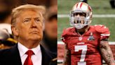 President Donald Trump says Colin Kaepernick should get another shot in the NFL 'if he deserves it'